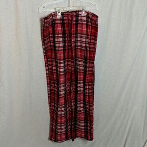 Fuzzy pajama pants